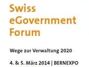 Vortrag: Swiss eGovernment Forum 2014